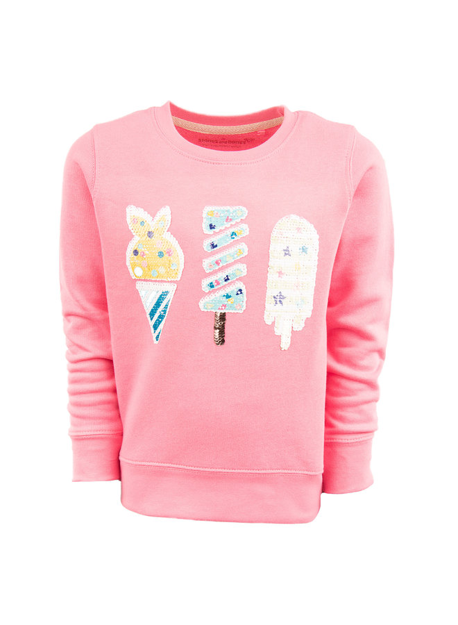 Stones And Bones Sweater Violeta Popsicles Pink