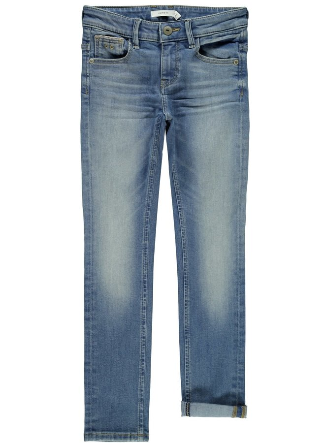 Name-it Jongens Jeans Theo Dnmtistic Medium Blue