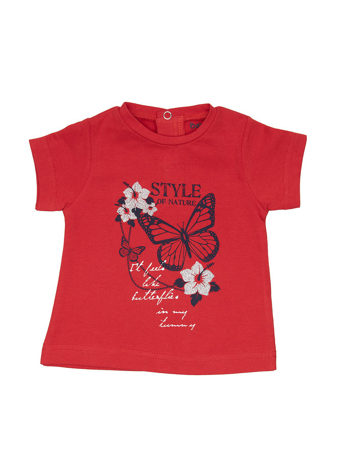 Babybol Meisjes Tshirt Style Of Nature