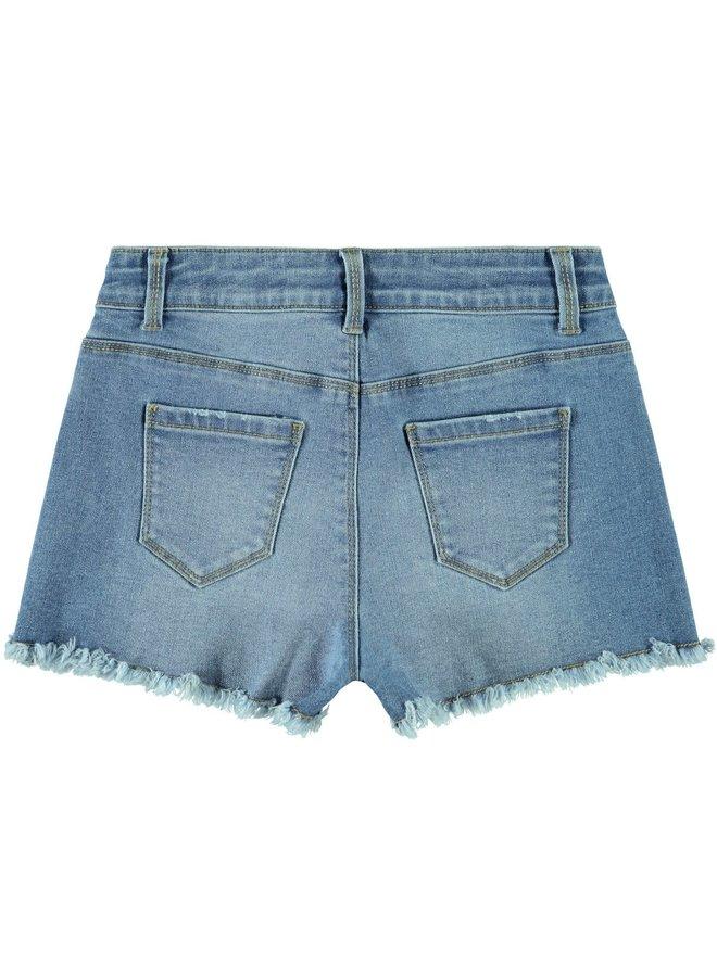 Name-it Meisjes Jeans Short Randi Light Blue Denim