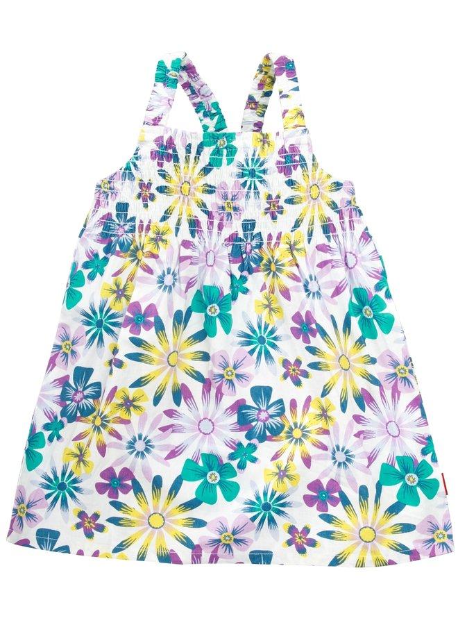 Shirt Galaia (bloemen) (Paars)