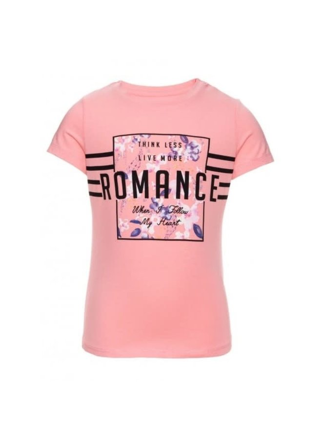 Name-it Meisjes Thirt NITHOST - Romance (Roze)