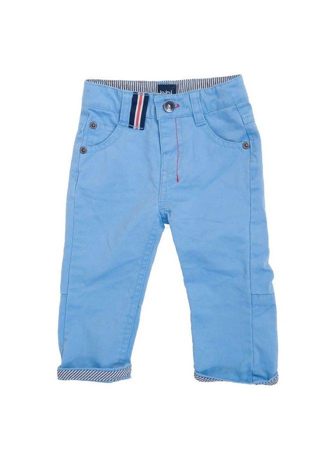 Beebielove Babykleding Licht Blauw Broekje