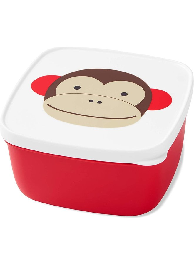 Skip*Hop Zoo Snack Containers (set of 3) Monkey