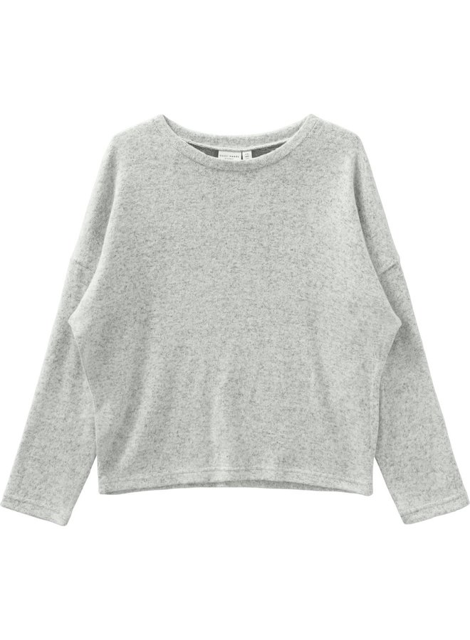 Name-it Meisjes Trui Victi Light Grey Melange