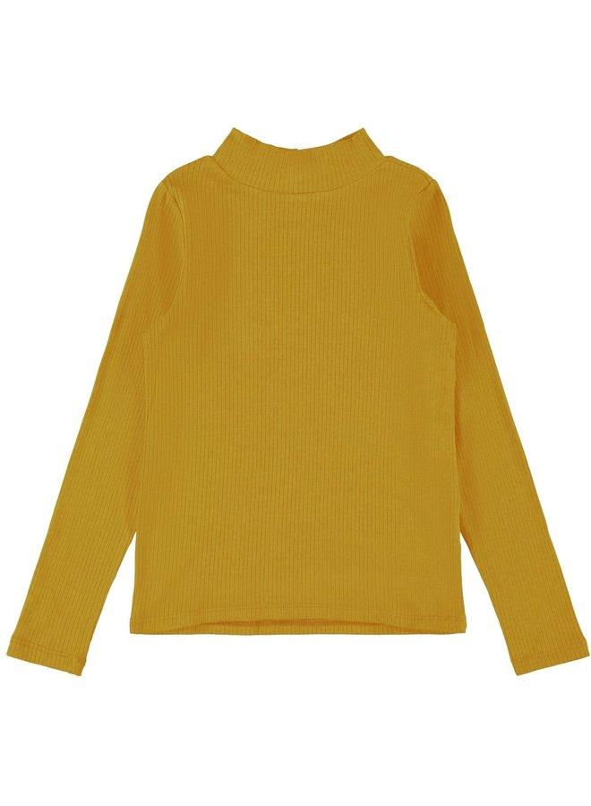 Name-it Meisjes Tshirt Dalima Spicy Mustard