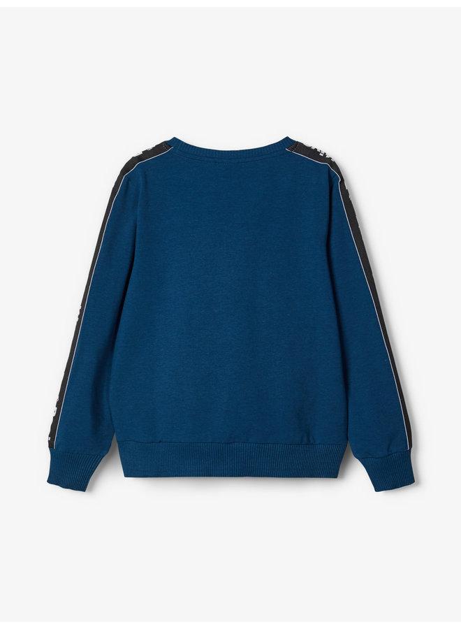Name-it Jongens Sweater Kamillon Gibraltar Sea