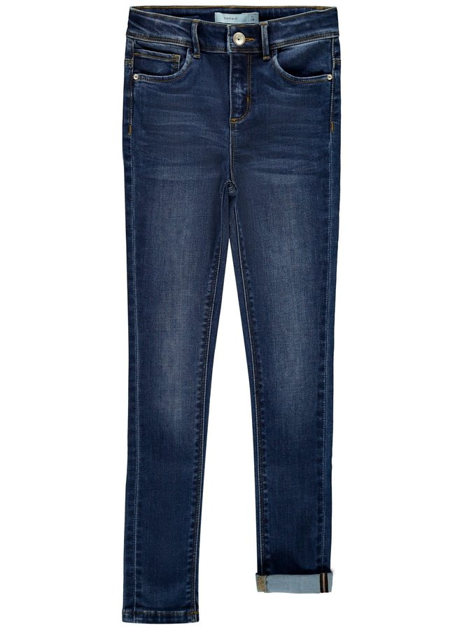 Name-it Meisjes Jeansbroek Polly Dnmtecos Dark Blue