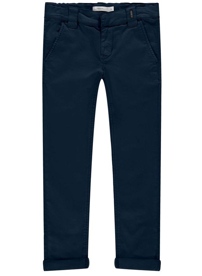 Name-it Jongens Jeansbroek Silas Chino Dark Sapphire