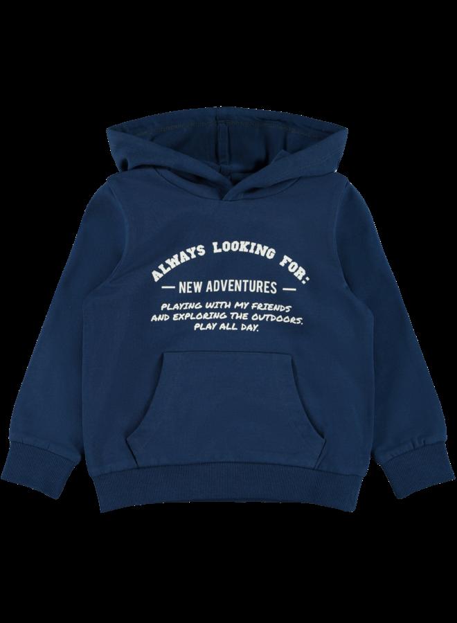 Name-it Jongens Sweater Lanis Gibraltar Sea