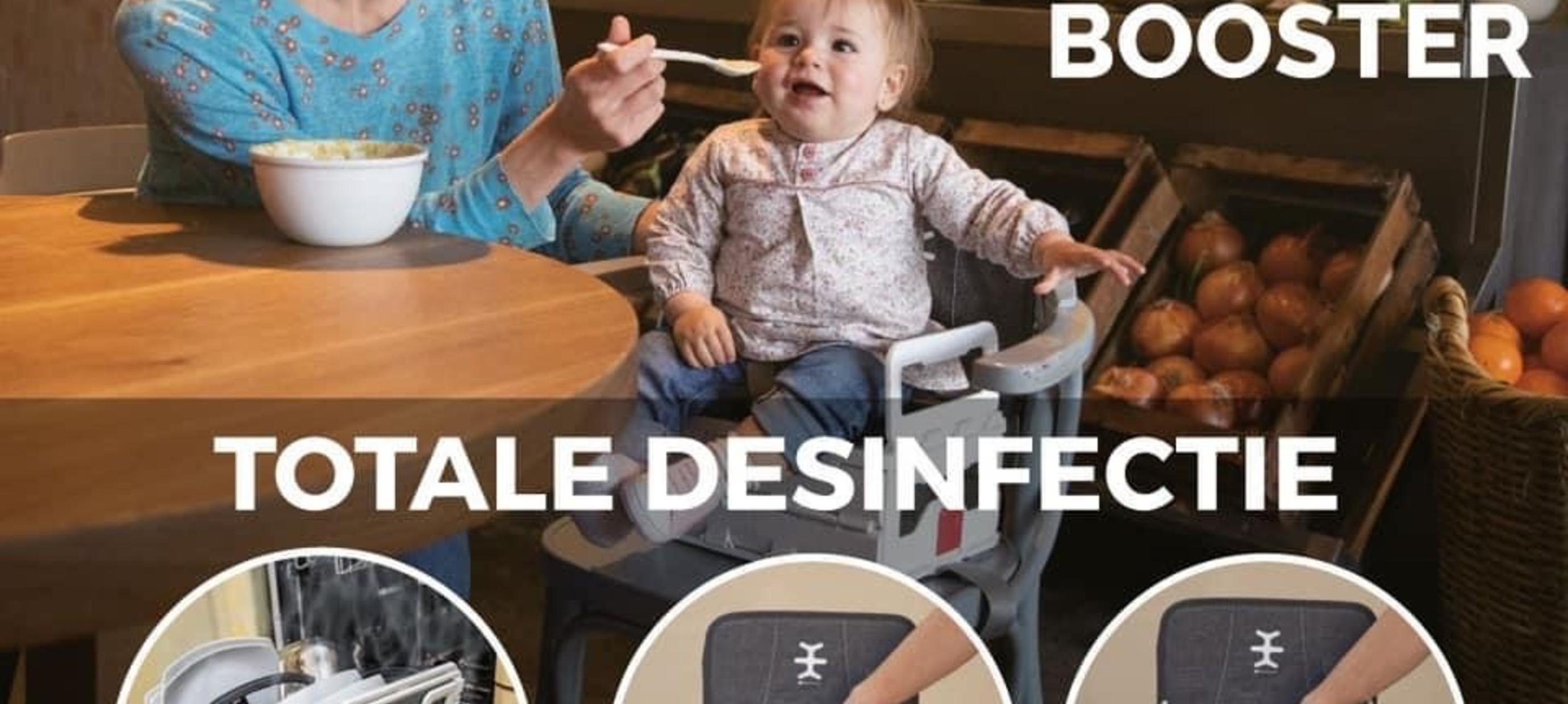 Hygiënische opvouwbare stoelverhoger
