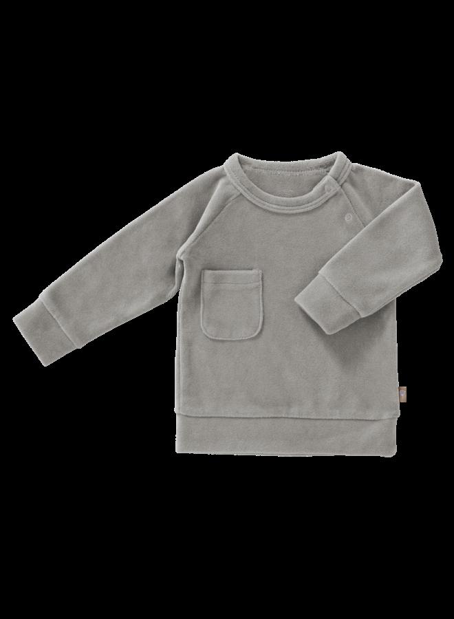 Fresk Sweater Velours Paloma Grey