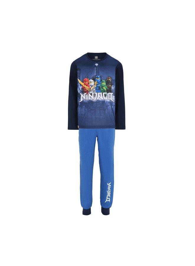 Legowear Blauwe Jongens Pyjama Lego Ninjago M23173
