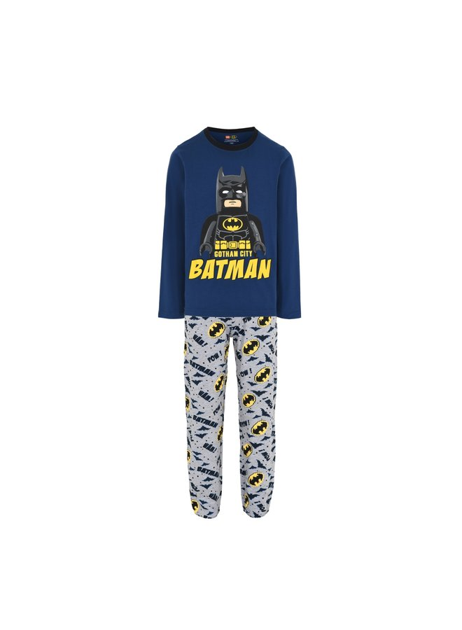 Legowear Blauwe Jongens Pyjama Lego Batman M22801
