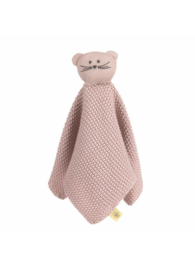 Lässig  Knitted Baby Comforter GOTS, Little Chums Mouse