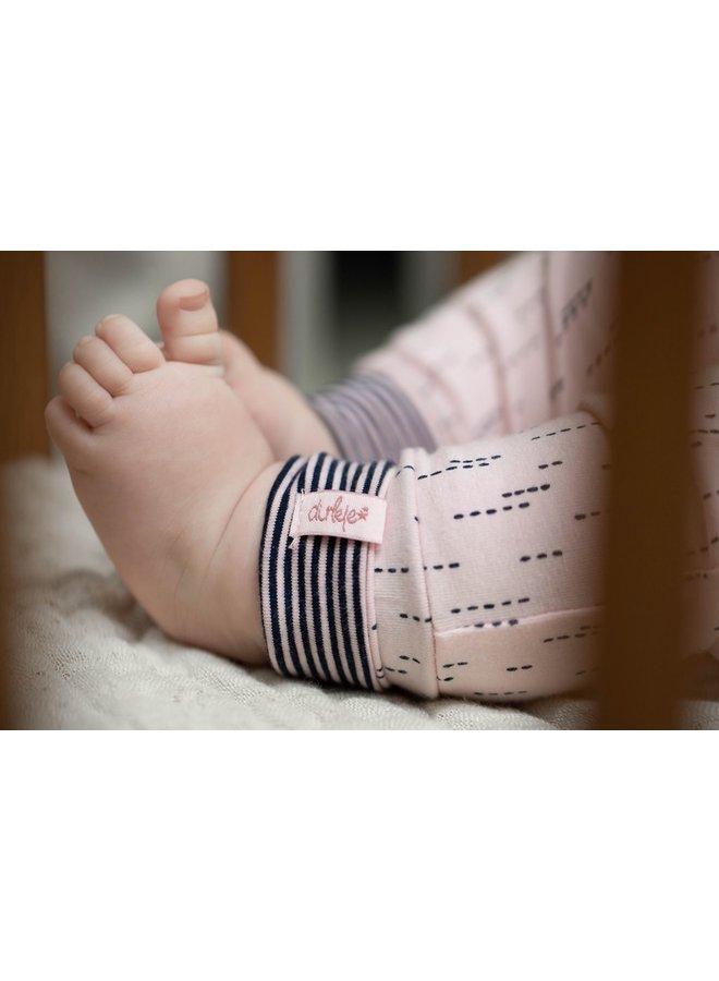 Dirkje Meisjes Broekje Stripes Light Pink