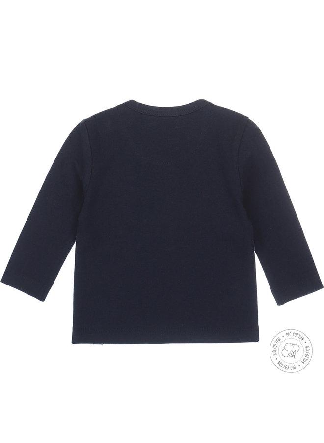 Dirkje Tshirt Navy Blauw