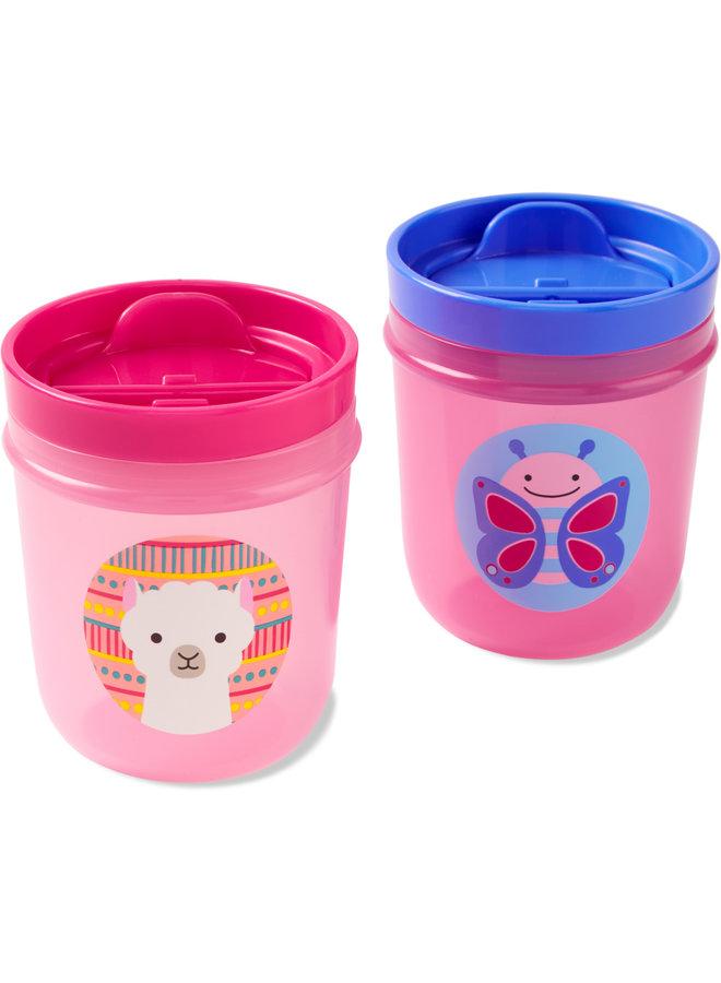 Skip Hop Zoo Tumbler Drink Cup Butterfly - Lama