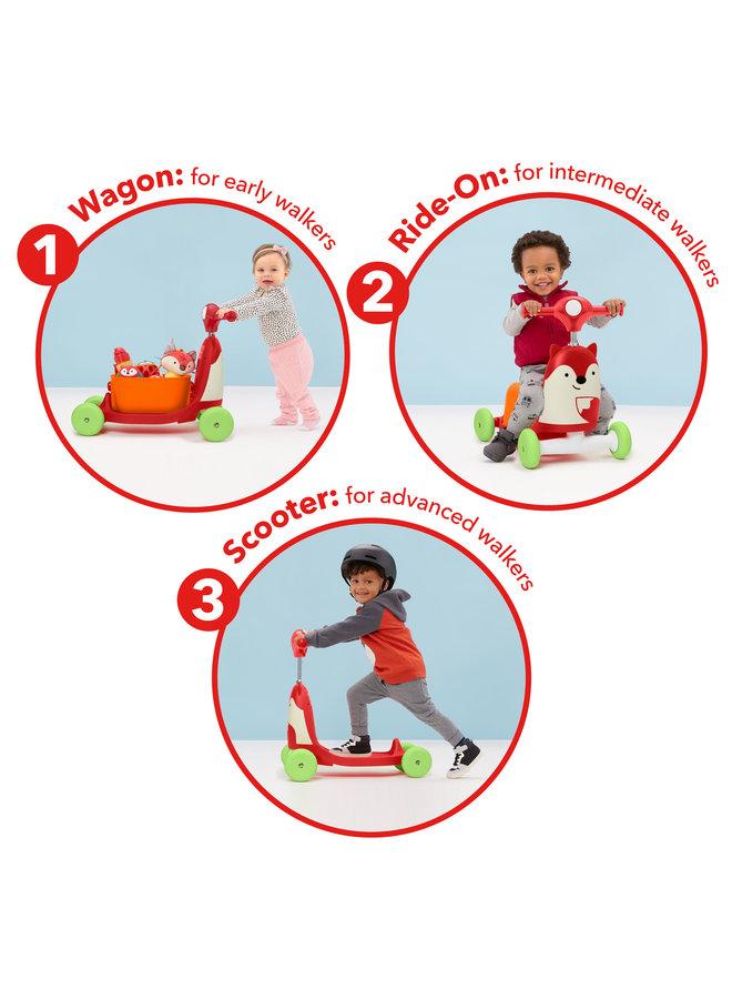 Skip Hop Ride On Toy Fox