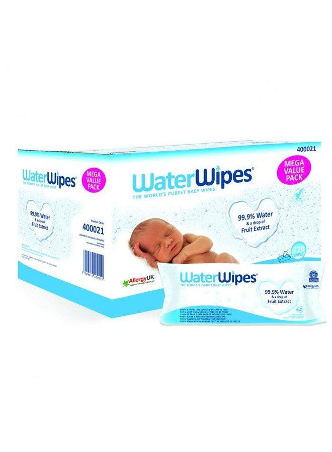Waterwipes Babydoekjes 720st (12x60)