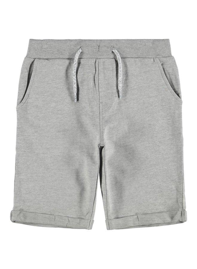 Name-it Jongens Long Sweat Short Vermo Grey Melange