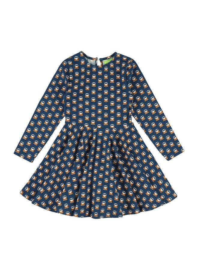 Lily Balou Meisjes Jurk Trissia Circle Dress Vans