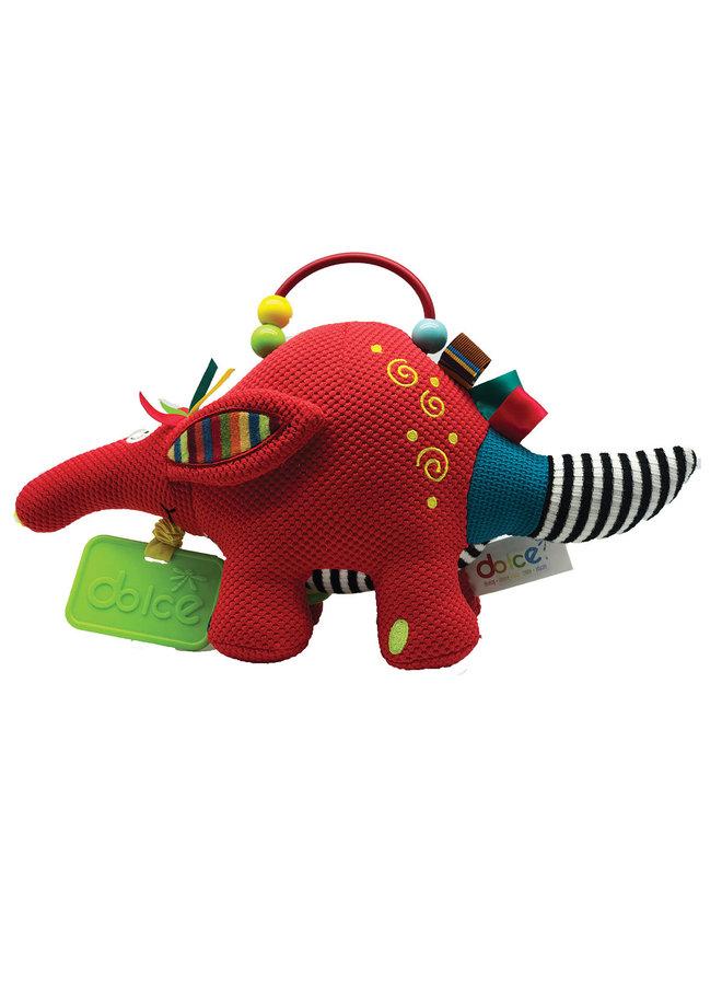 Dolce Toys Activity Knuffel Aardvarken