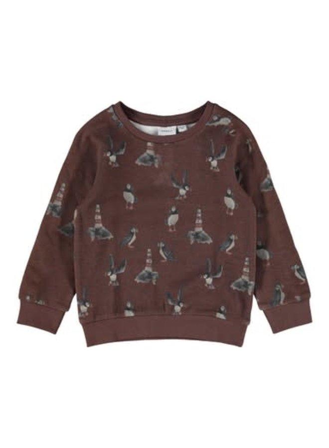 Name-it Jongens Sweater Oskar Rocky Road