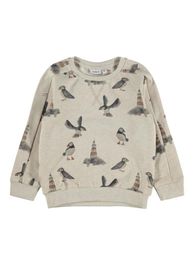 Name-it Jongens Sweater Oskar Peyote Melange