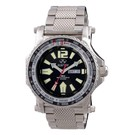 Proton black dial with stainless bracelet 91601