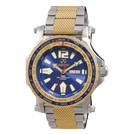 Proton 2-tone gold & stainless with navy blue dial 91103