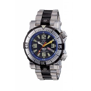 Poseidon Stainless LE Black/Blue, Dual Bands 55903
