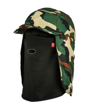 Airhole 5 Panel Hat Woodland