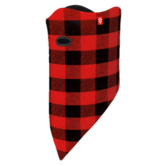 Airhole Facemask Standard Red Buffalo M/L