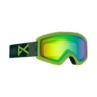 Anon Helix 2.0 Sonar Goggle Deermtn/Green + extra lens