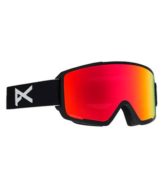 Anon M3 Goggle MFI Black/Sonar Red + extra lens