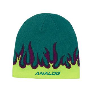 Analog Beanie Green-Blue Slate O/S