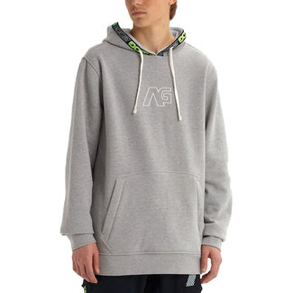 Analog Crux Snowboard Pullover Hoodie Gray Heather