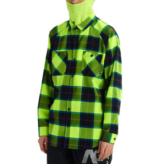 Analog Transmission Flannel Shirt High Viz Mind Plaid