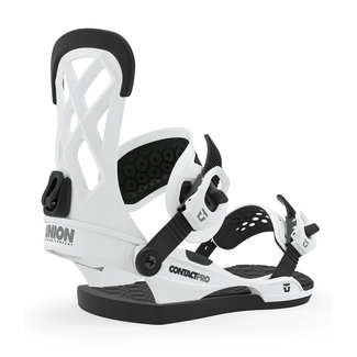UNION Contact Pro Snowboard Binding White