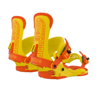 UNION Custom House DDC Snowboard Binding Yellow - L