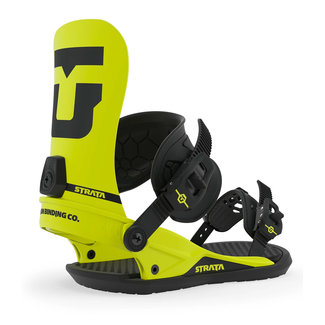 UNION Strata Snowboard Binding Hazard Yellow