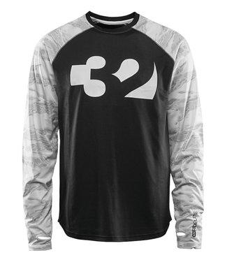 Thirty-Two Ridelite Longsleeve T-shirt White/Camo