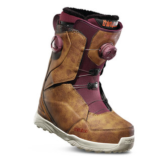 Thirty-Two Lashed Double Boa Snowboard Boots Brown