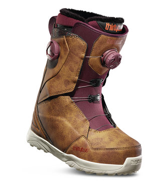 Thirty-Two Lashed Double Boa Snowboard Boots Brown W