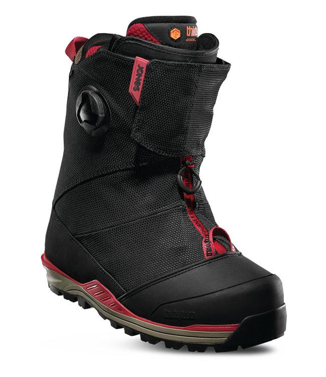 Thirty-Two Jones MTB Snowboard Boots Black/Tan/Red