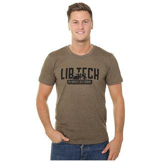 Lib Tech Kraftsmen T-Shirt Brown