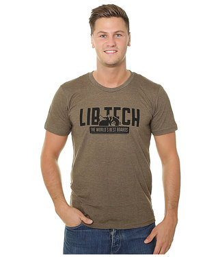 Lib Tech Kraftsmen T-Shirt Brown