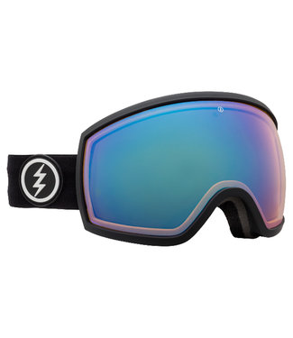 Electric Goggles Egg Goggle Matte black Pure/Blue Chrome
