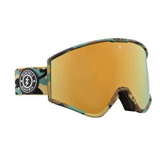 Electric Goggles Kleveland Goggle Camo Brose/Gold Chrome + Extra Lens
